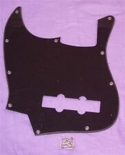 Mano SINISTRA Scratchplate per Fender Jazz Bass / Nero Single Ply