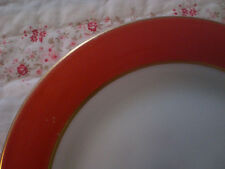 Pyrex Milk Glass Flamingo Red Plate