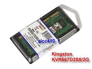 Kingston 667Mhz 2GB DDR2 RAM SoDimm 2 GB 667 Brand New