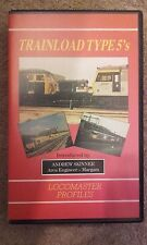 Trainload type 5's locomaster profiles vhs video Class 56,58,59,60