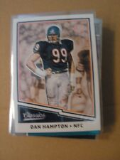 Dan Hampton 2017 Classics NFL Legend Chicago Bears Football Trading Card 161