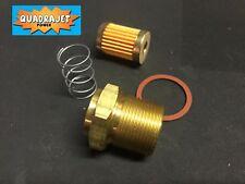 Quadrajet filter kit, long thread. Repair stripped threads. Filter, gasket Early