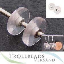 TROLLBEADS Rosenquarz Anhänger für Ohrhaken - Rose Quartz 86102