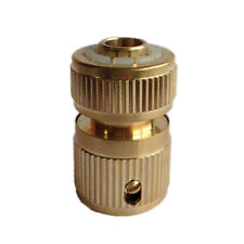 Brass Auto Water Guide Quick Fit Female Hose Aipe Connector.Hoselock Clips1/2 ME