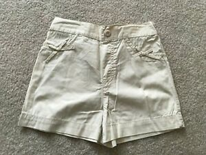 Okie Dokie Boys Khaki Twill Pull On Shorts Baby Size 18 Months  NEW