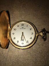 1960s vintage wittnauer Geneve Pocket watch cal. C11K-2