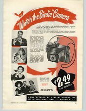 1951 PAPER AD Ann Miller Red Skelton Movie Watch The Birdie Camera Arlene Dahl
