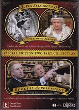 Queen Elizabeth II - A Lifetime Of Service - DVD (Brand New Sealed) All Regions
