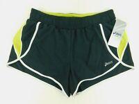 Asics Womens Black Athletic 3in Split Shorts Size M w/ Drawstring NWT
