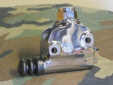 Panhead, Shovelhead Rear Brake Chrome Master Cylinder. 58 - 79