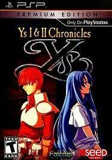 Ys I & II Chronicles: Premium Edition (Sony PSP, 2011)
