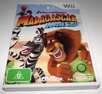 Madagascar Kartz Nintendo Wii PAL *Complete* Wii U Compatible