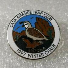Casa Grande Trap Club 1997 Winter Chain / Lapel Hat Pin / Arizona