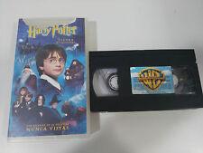 HARRY POTTER Y LA PIEDRA FILOSOFAL VHS CINTA TAPE COLECCIONISTA EDICION ESPAÑOLA