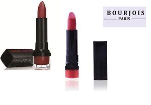 Bourjois Lipstick Rouge Edition-Semi-Matte Finish-12H Choose Shade