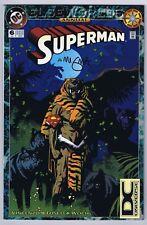 Superman Annual #6 DC UPC Variant FN/VF Signed w/COA Mike Mignola 1994 DC Comics