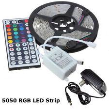 5050 RGB LED Tira Luces Cinta de cambio de color debajo de armarios Cocina Iluminación