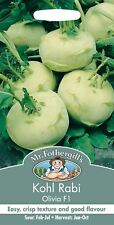 Mr Fothergills - Pictorial Packet - Vegetable - Kohl Rabi Olivia F1 - 50 Seeds