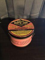 🔥Vintage 1930's Click Chemical Corp. Moth-Jinx  Closet Vaporizer 🔥