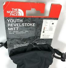 The North Face Youth Revelstoke Insulated Mittens Winter Gloves, Black, Medium