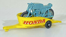 Vintage Lesney Matchbox Series No. 38-C Honda Motorcycle & Trailer 1967 Loose