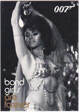 JAMES BOND IN MOTION BOND GIRLS ARE FOREVER INSERT BG67 LEILA GUIRAUT GYPSY