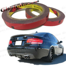 3M Automotive Double Side Adhesive Tape 2 Rolls Apply Motors Exterior Body Parts