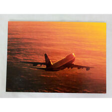 Lufthansa Airways - Boeing 747 - Aircraft Postcard - Airline Issue