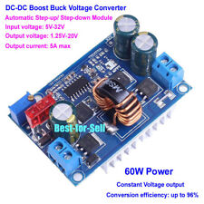 DC-DC Automatic Boost Buck Converter Step up/down Regulator 5-32V to 1.25-20V 5A