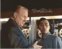 Hand Signed 8x10 photo BURT KWOUK in GOLDFINGER with Frobe JAMES BOND + my COA
