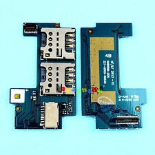 DUAL 2 SIM + SD SLOT READER FLEX CABLE FOR SONY XPERIA C C2304 C2305 S39c S39h