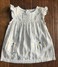 Carter's Baby Girl 3 Months White & Gold Dress | Beautiful ��| Never Worn