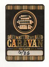 Dave Matthews Band Caravan 2011 Working Crew Satin Backstage Pass