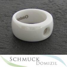 Melano - Magnetic Keramik Ring - 10 mm - weiss - Gr. 64 - NEU