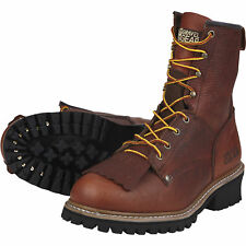 Gravel Gear 8in. Logger Boot - Brown, Size 10