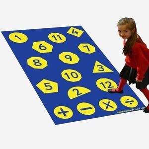 Eduk8 Maths Activity Floor Play Mat Home School Fun Learn Children's Kids
