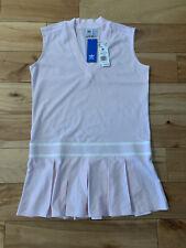 adidas Women's Pink Tennis Dress, Size Medium