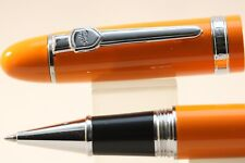 Jinhao No. 159 Oversize Lacquered Orange Rollerball Pen with Chrome Trim
