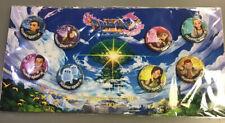 Sellado Raras Dragon Quest XI ecos de una evasiva edad 8 Botón Pin Set!!!