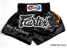Fairtex Shorts Satin Bs0639 Muay Thai Boxing Mma K1 Ufc Kick My Fortune Fish