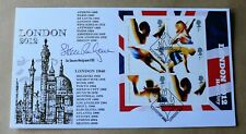 OLYMPICS LONDON HOST CITY M/S 2005 BUCKINGHAM FDC SIGNED BY ROWER STEVE REDGRAVE
