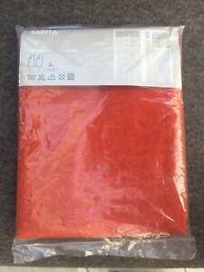 SARITA 2Schals/Vorhang von IKEA,rot,orig.verpackt
