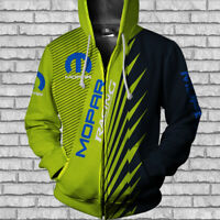 MOPAR RACING-Top Gift-Man's Zipper Hoodie 3D-SIZE S TO 5XL- JACKET