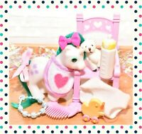 ❤️My Little Pony MLP G1 Vtg Baby Unicorn Gusty Beddy Bye BBE Accessories 1986❤️