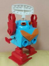 VINTAGE SPACE ROBOT TOY RADAR WIND UP RUSSIAN VERSION DURHAM APOLLO ASTROIDS KEY