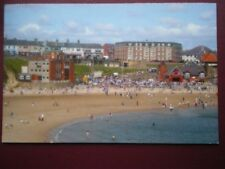 POSTCARD YORKSHIRE CULLERCOATS BAY - SUMMERS DAY