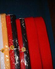 "Lot Of 7 Century Martial Arts Karate Belts ""Double Wrap"" New Belts"