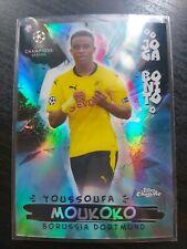 Topps Chrome Champions League 2020-21 - Youssoufa Moukoko - Joga Bonito/Parallel