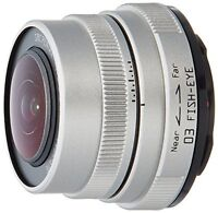 PENTAX single focus lens 3.2mm F5.6 03 FISH-EYE Q mount 22087 from Japan*