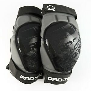 Pro Tec Transfer Knee Pads Mountain Biking Knee Pads Size L/XL Grey Black